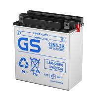 Мото аккумуляторы GS Conventional, серии 12N, 6N, B, CHD (Тайвань)