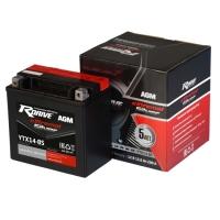 Мото аккумуляторы RDrive eXtremal Silver (сухозаряженные батареи)