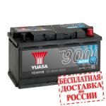 Аккумулятор YUASA YBX9115 (L4, 80 EU) - 2019