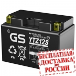 Мото аккумулятор GS YTZ12S -2015