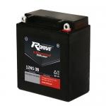 Гелевый мото аккумулятор RDrive eXtremal Silver 12N5-3B-2017