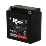Мото аккумулятор RDrive eXtremal Silver 12N9-4B-1 2018