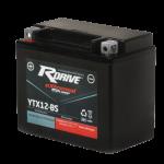 Гелевый мото аккумулятор RDrive eXtremal Silver YTX12-BS-2014
