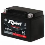 Гелевый мото аккумулятор RDrive eXtremal Silver YTX9-BS-2017