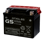Мото аккумулятор GS GTX5L-BS