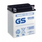 Мото аккумулятор GS CB14-B2