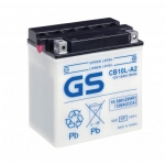 Мото аккумулятор GS CB10L-A2 с электролитом