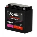 Гелевый мото аккумулятор RDrive eXtremal Iridium YT14B-4-2016