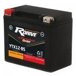 Гелевый мото аккумулятор RDrive eXtremal Gold YTX12-BS-2017