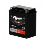 Гелевый мото аккумулятор RDrive eXtremal Silver YTX7L-BS-2017