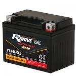 Мото аккумулятор RDrive eXtremal Gold NANO GEL YTX4L-GEL - 2019
