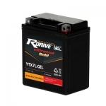 Мото аккумулятор RDrive eXtremal Gold NANO GEL YTX7L-GEL - 2019