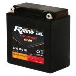 Гелевый мото аккумулятор RDrive eXtremal Gold NANO GEL 12N9-4B-1