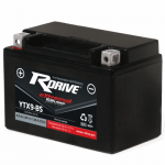 Гелевый мото аккумулятор RDrive eXtremal Silver YTX9-BS