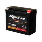Мото аккумулятор RDrive eXtremal Gold YTX24HL - 2019