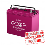Аккумулятор ECO.R Revolution 75B24R / N-65R (Япония) - 2019