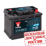 Аккумулятор YUASA YBX7027 (L2, 60 EU) - 2019