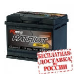 Аккумулятор RDrive PATRIOT DIESEL MF 060054L2 - 2019