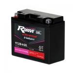 Мото аккумулятор RDrive eXtremal Iridium NANO GEL YT12B-4-GEL