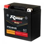 Мото аккумулятор RDrive eXtremal Gold YTX14H - 2020