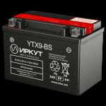 Мото аккумулятор ИРКУТ YTX9-BS