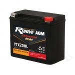 Гелевый мото аккумулятор RDrive eXtremal Gold YTX20HL-2019