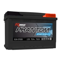 PHANTOM Start-Stop - AGM версия для автомобилей с системой Start-Stop
