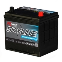 SKYLINE Start-Stop+ AGM (JPA) - AGM версия для гибридных автомобилей
