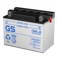Мото аккумуляторы GS Heavy Duty, серии C, CB, SCB (Тайвань) - с электролитом