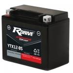 Мото аккумулятор RDrive eXtremal Silver YTX12-BS-2017