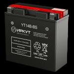 Мото аккумулятор ИРКУТ YT14B-BS