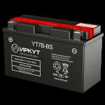 Мото аккумулятор ИРКУТ YT7B-BS